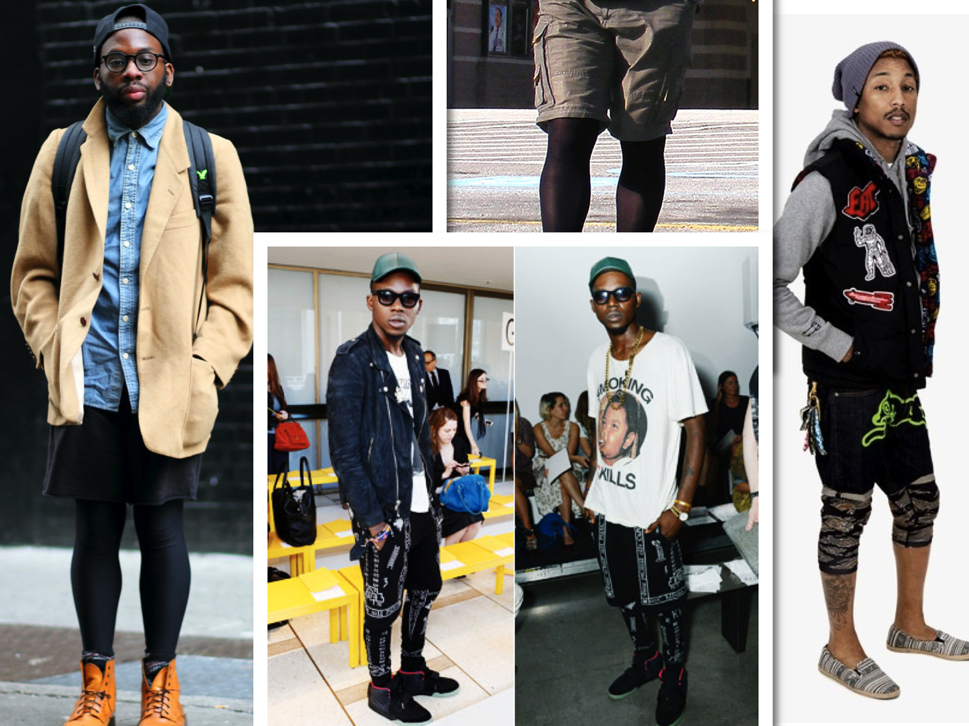 Tights for men fashion